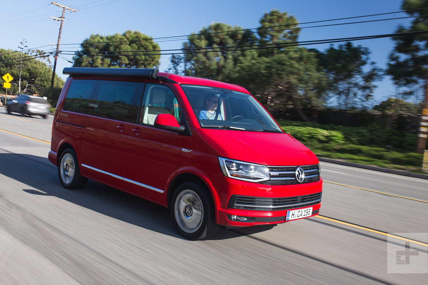 2018 Volkswagen T6 Transporter California First Drive - T 6 California Küche