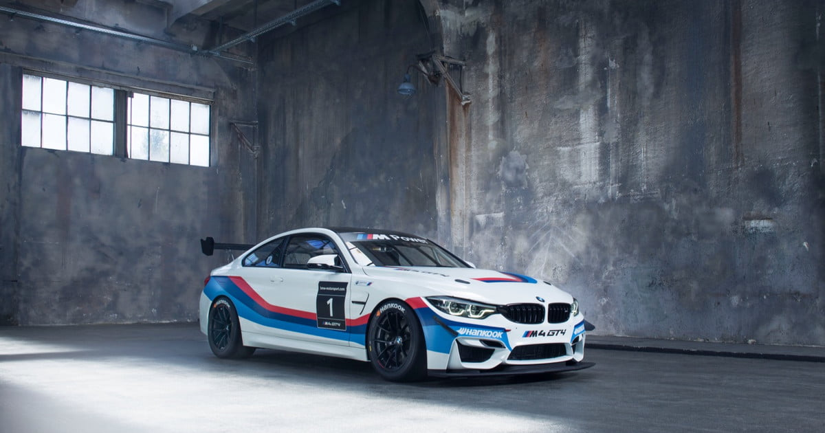 Blue Racing Car Wallpaper If You Thought Bmw S M4 Was Cool The Gt4 Racing Version