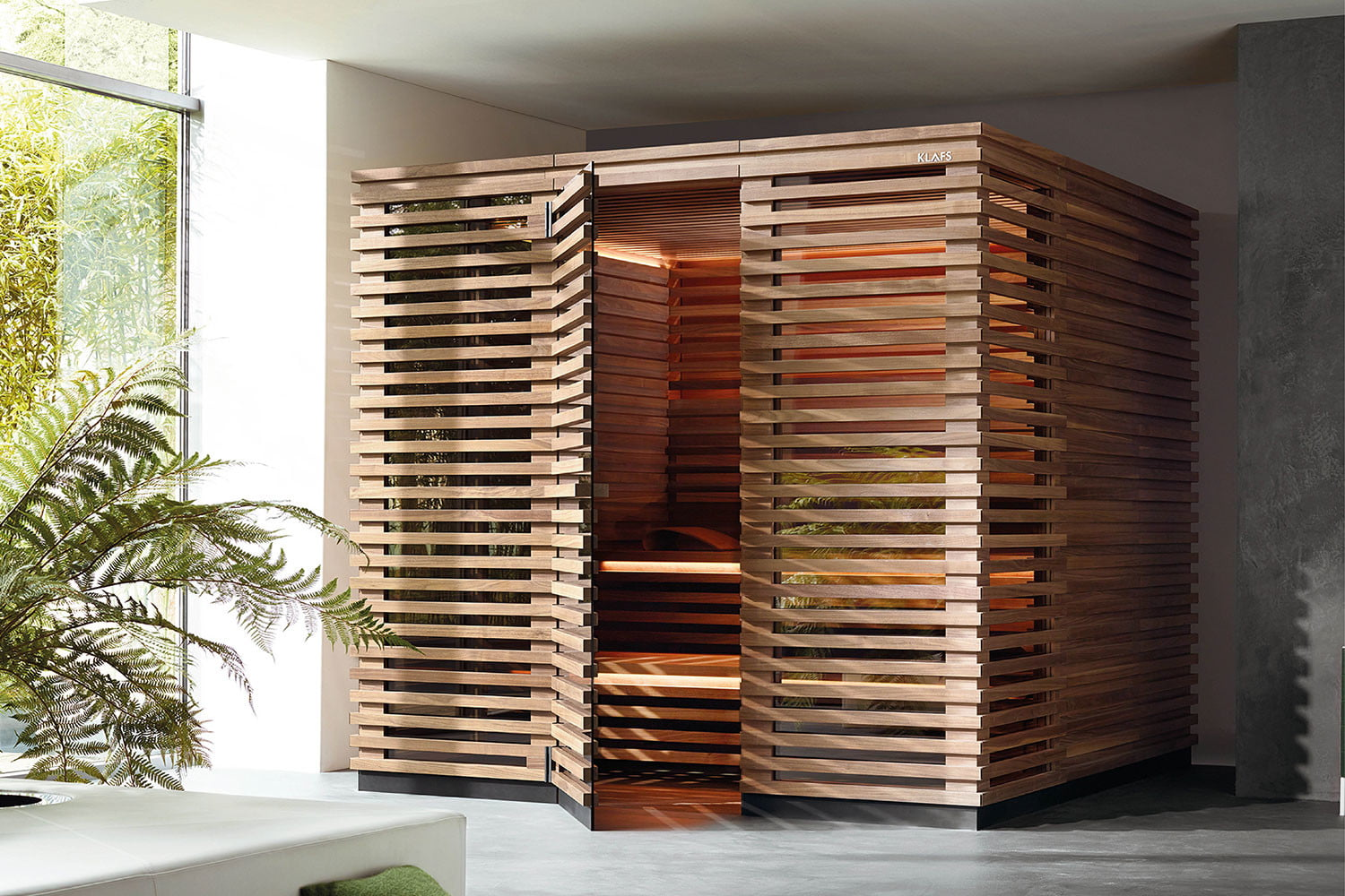 Klafs S1 Klafs S1 Sauna Is Meant To Fit In Apartments Digital Trends