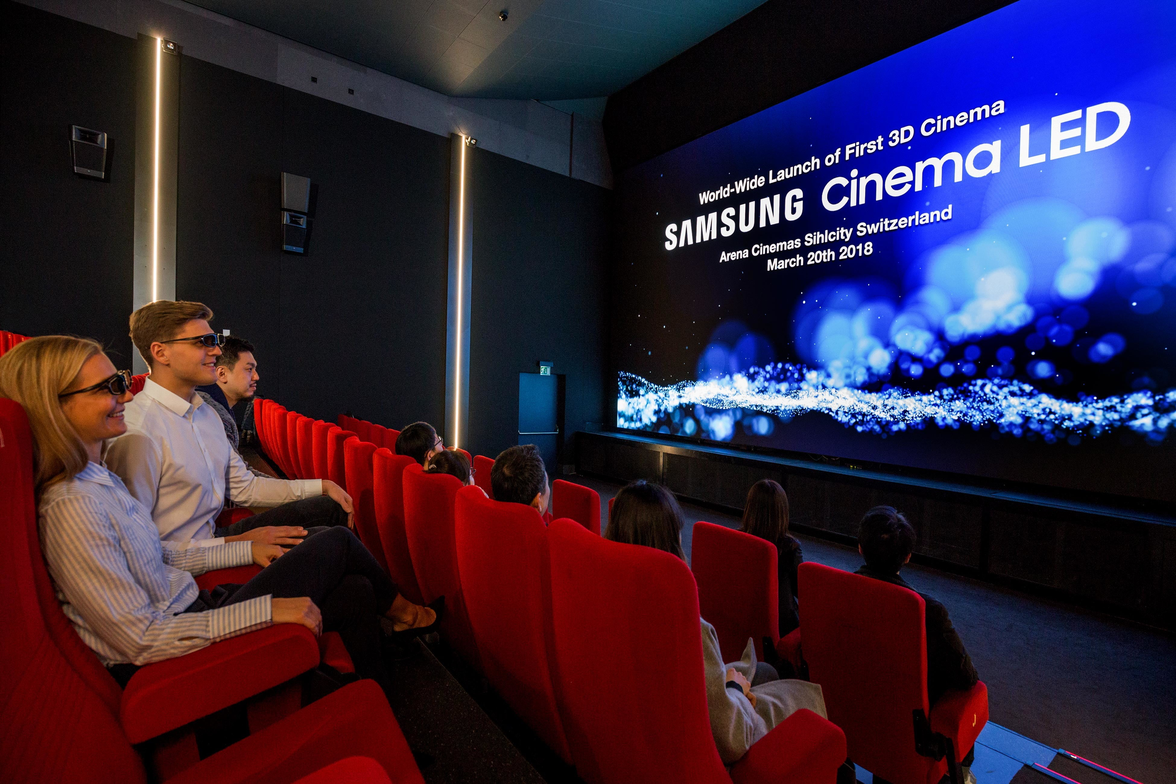 Projecteur Led Exterieur Samsung's 34-foot Onyx Led Tv Could Change Movie Theaters