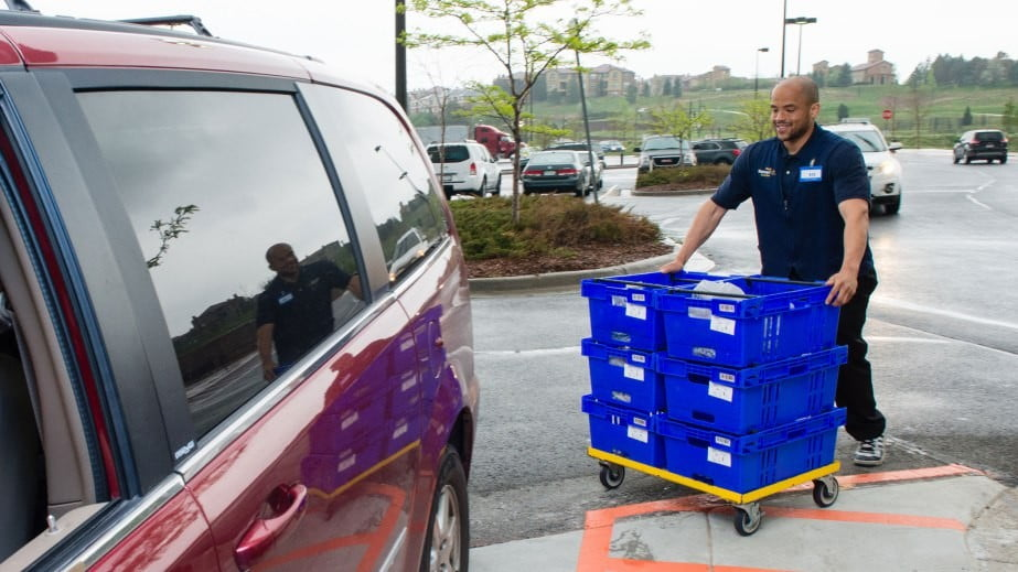 Order Groceries Online At Walmart And Uber Or Lyft Will