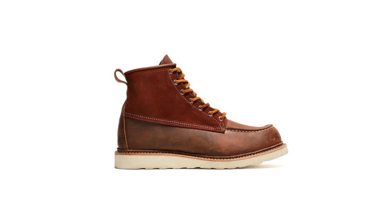 6 Men39s Moc Toe Boots That Are Fall Footwear Perfection