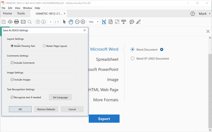 How to Convert a PDF File Into a Word Document Digital Trends