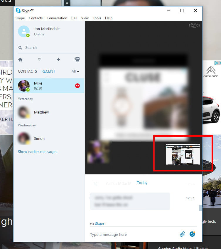 How to Share Your Screen on Skype Digital Trends