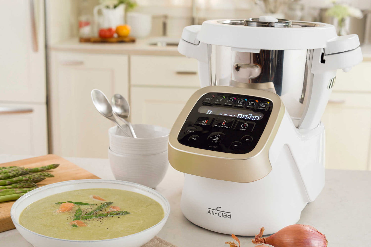 Cooking Chef Ou Thermomix Tm5 Showdown Bellini Vs Thermomix Vs All Clad Prep And Cook