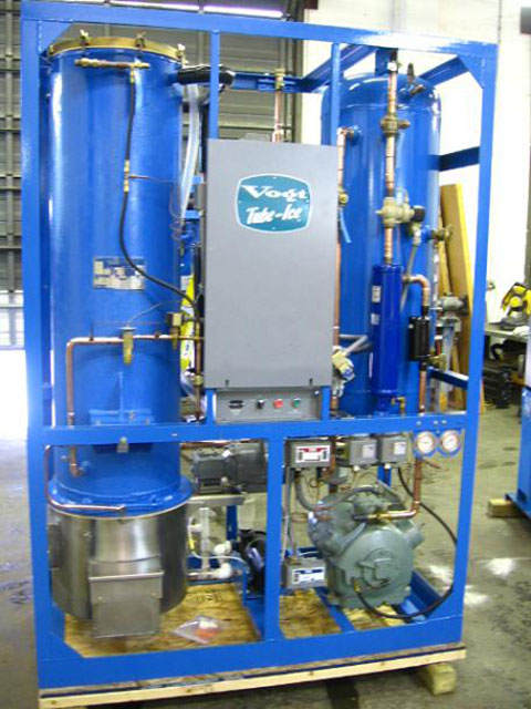 Vogt Tube Ice Machine m6000-m7000-m9000 converted to P118f