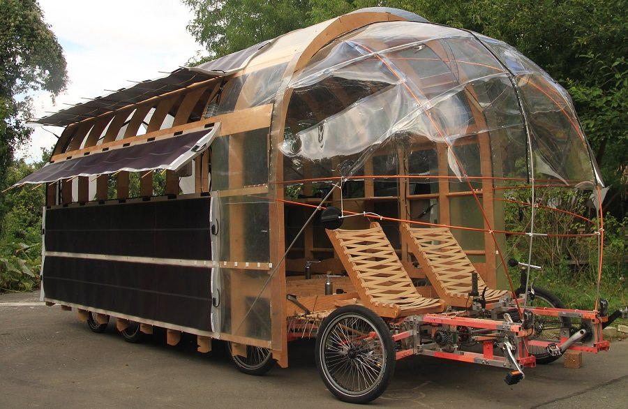 Autark Wohnen The Biggest Cargo Bike In The World Is The Size Of A Car