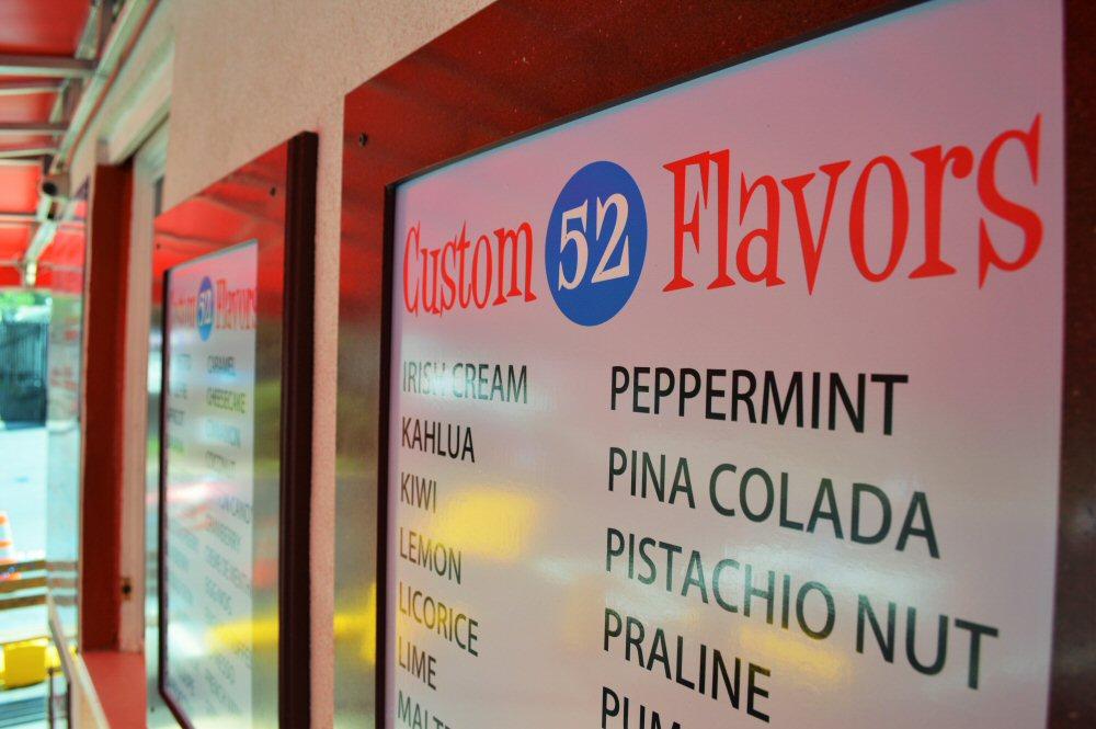 52 Flavors at Ice Cream Drive Delaware