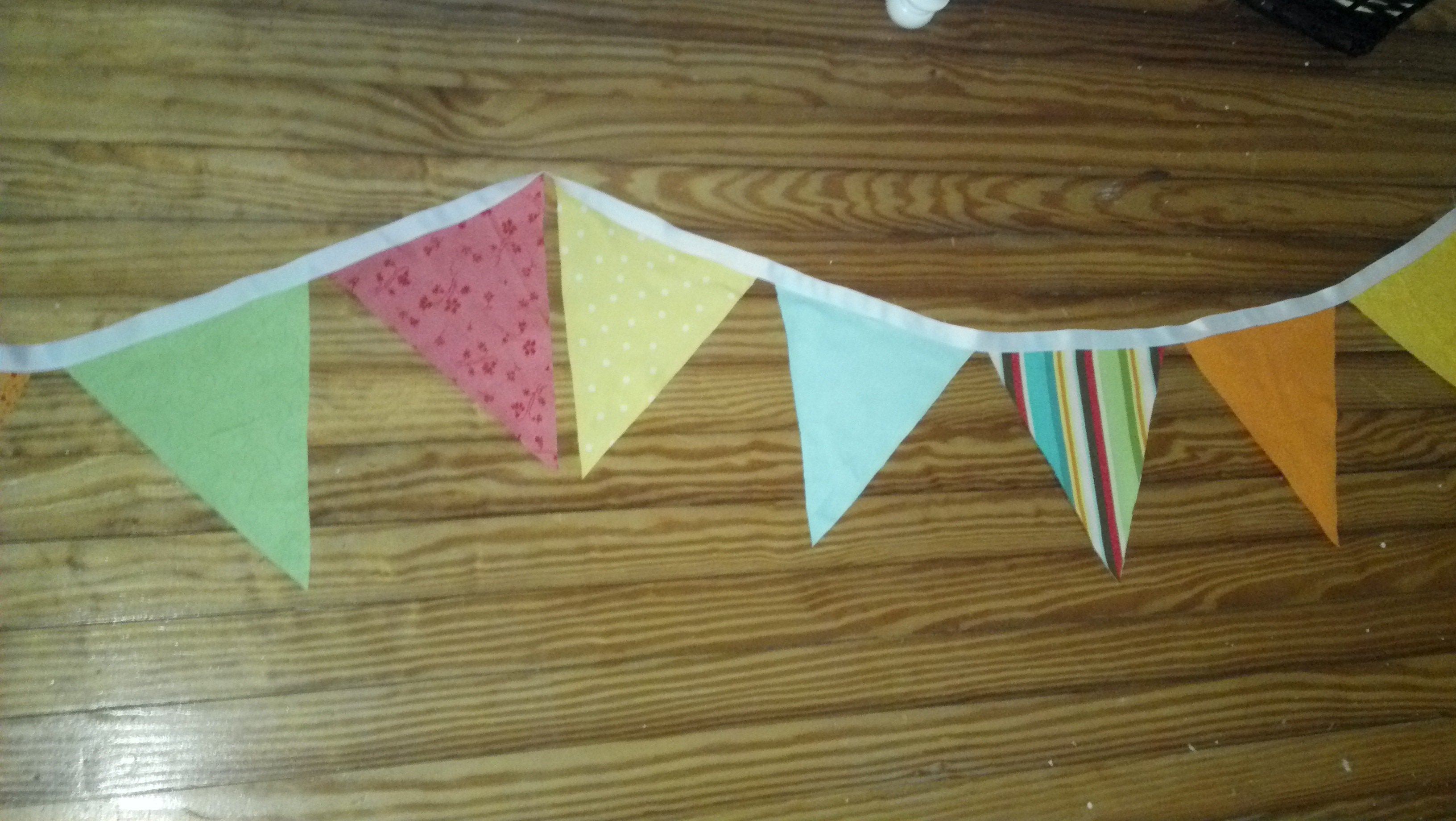 Bunting for Baby Kopp