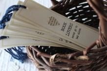 shower bookmarks