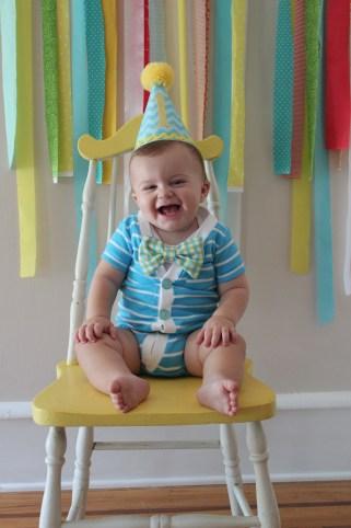 first birthday boy bowtie onesie