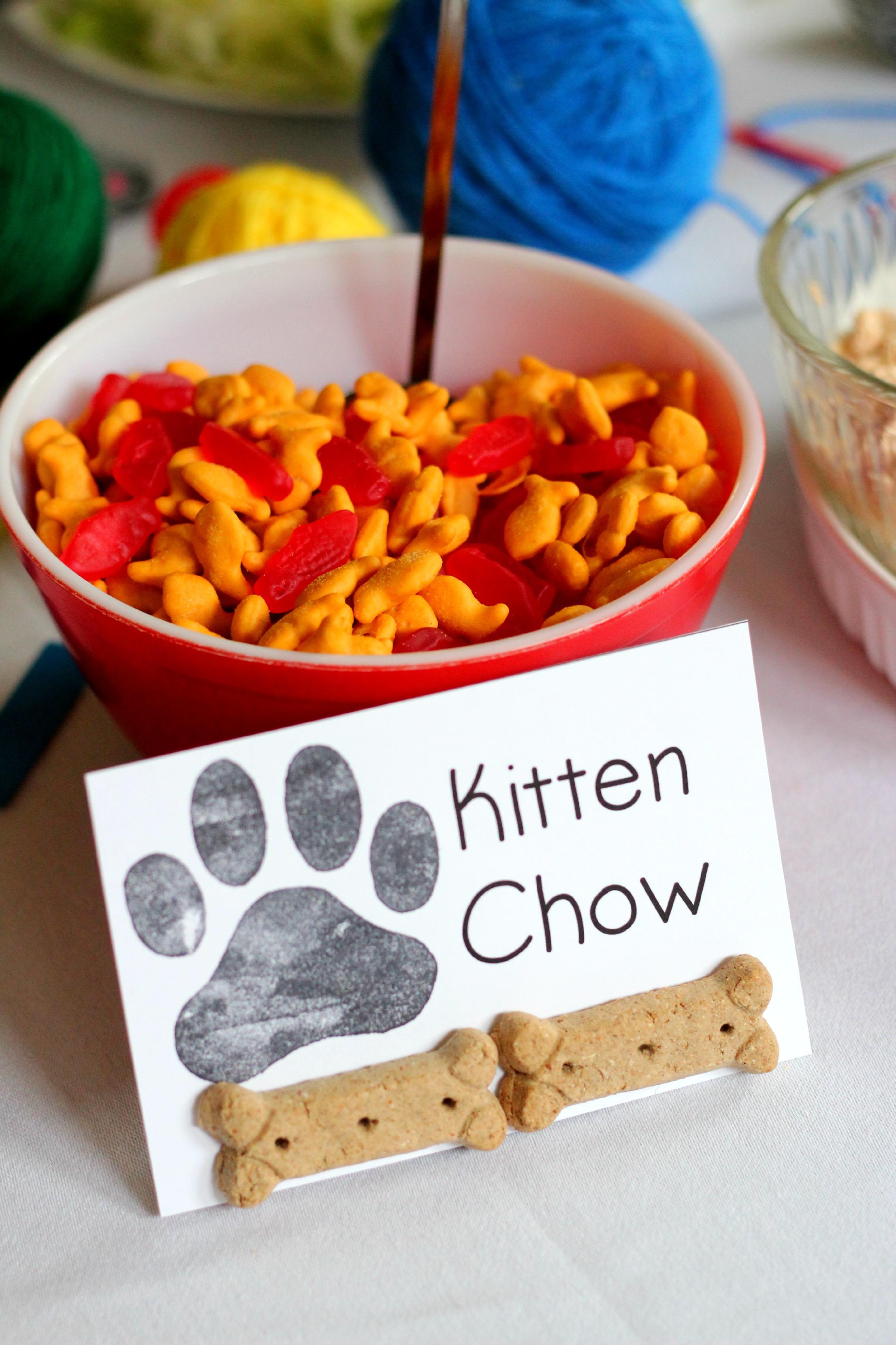 Dog Themed Food Names
