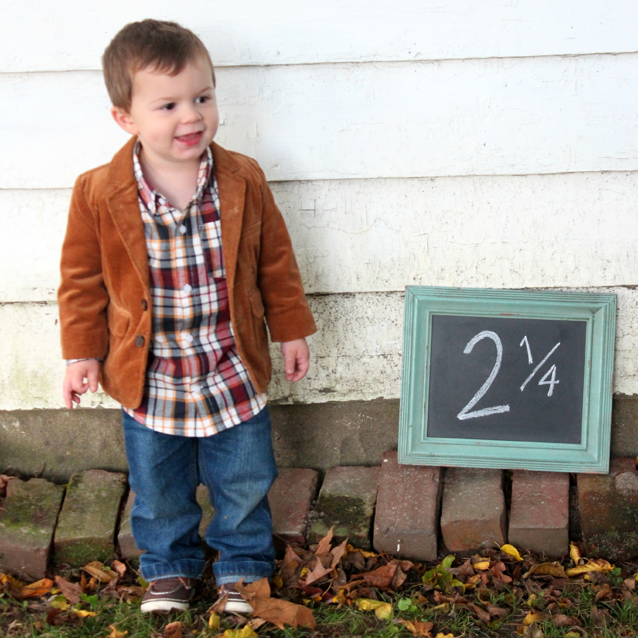 He's Back! Owen's Quarterly Update {2 and 1/4}