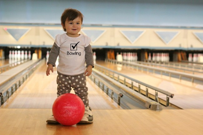 bowling baby