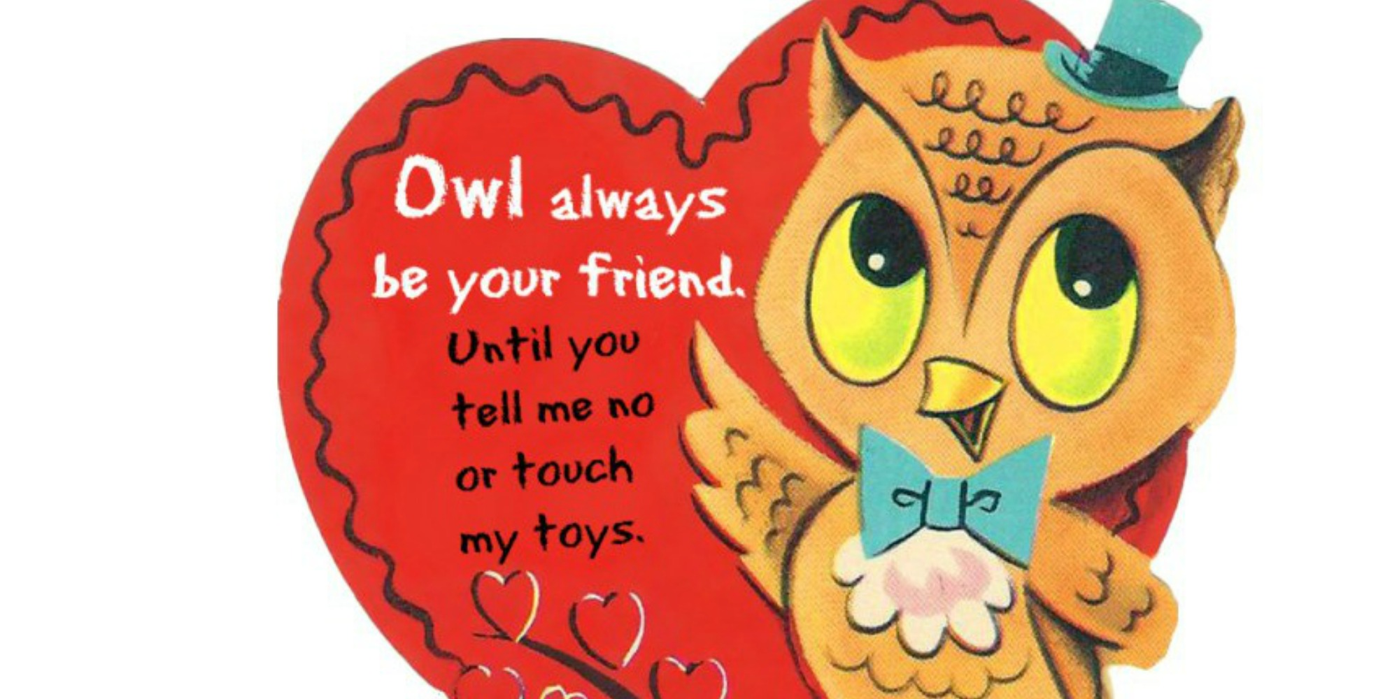 Cards for Valentine's Day Written The Toddler Way