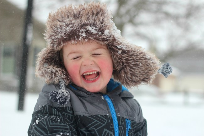 owen pure joy snow photo