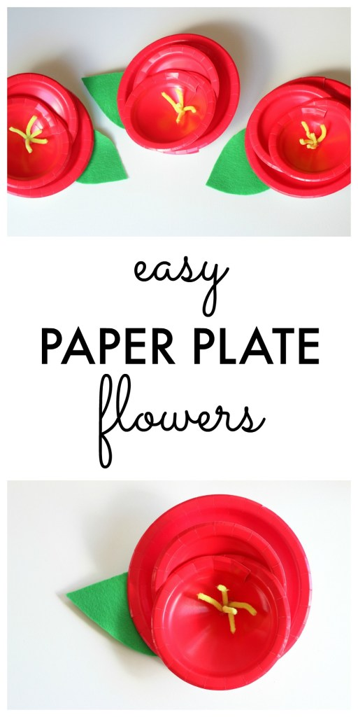 Paper Plate Flower Craft Instructions