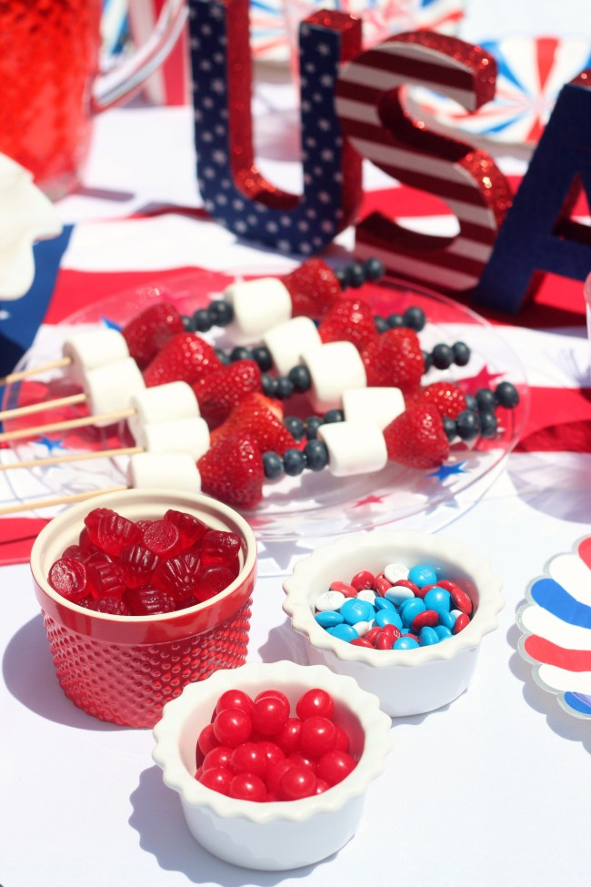 4th of july table candy