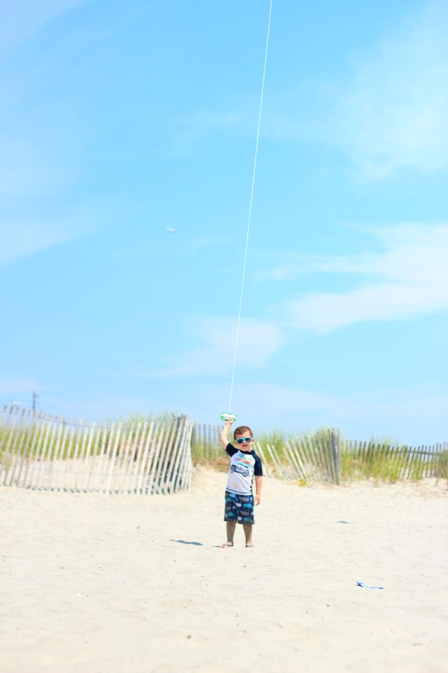 owen flying kite