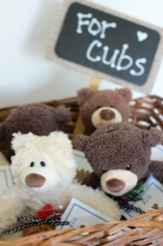 cubs in a basket