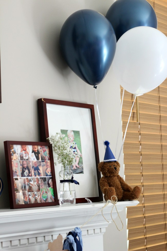 mantle balloons
