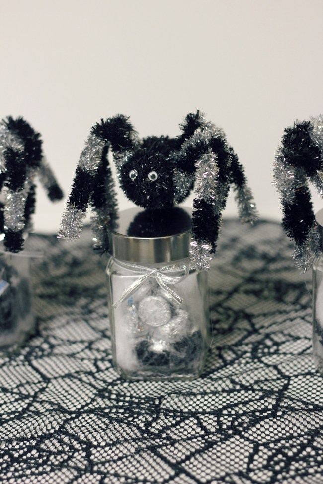 Spooky Spider Halloween Favors or Treats