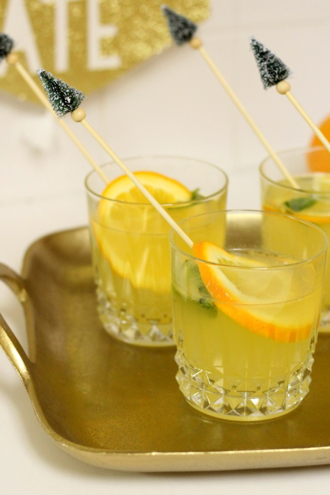 White citrus mint sangria recipe