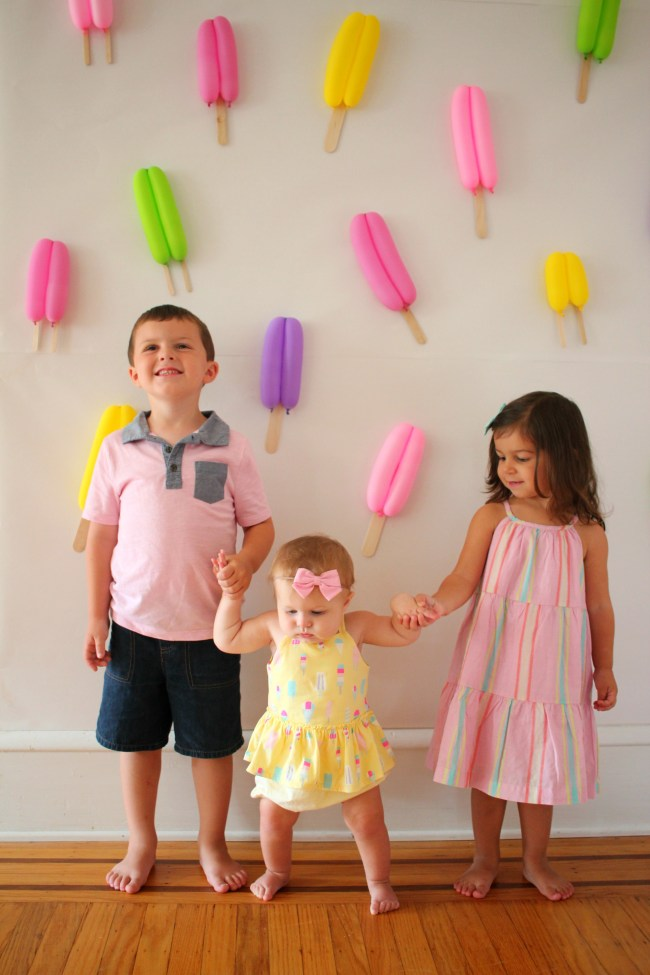 Popsicle Party for Birthday Girl - It's COOL to Be Three!