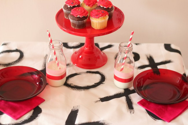 Valentine's Day Party Ideas XOXO - tabletop
