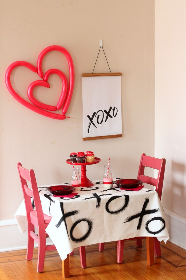 Valentine's Day Party for Kids DIY Ideas XOXO