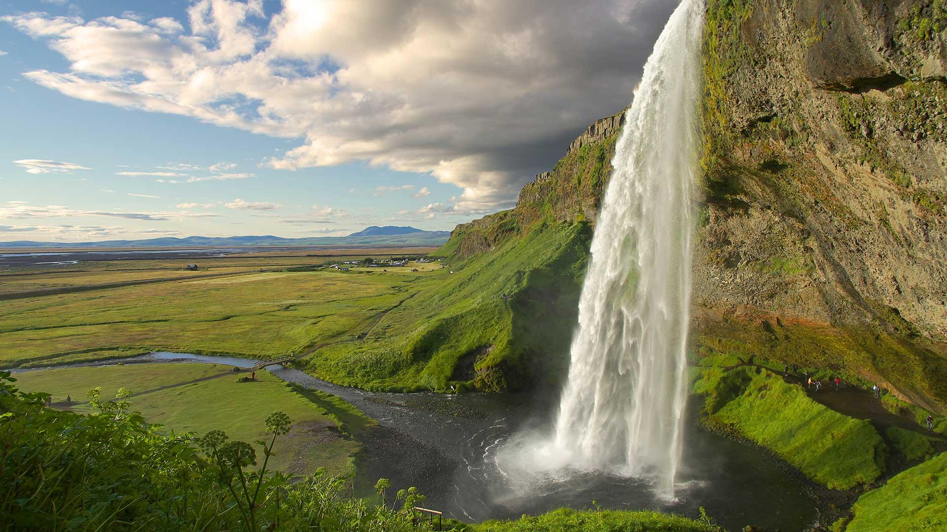 Falls Wallpaper Waterfall Seljalandsfoss Waterfall South Iceland Travel Guide
