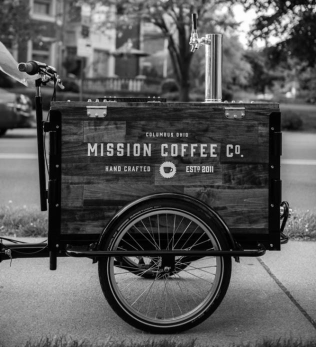 Mobile Coffee Business Hand-Built Coffee Vending Carts - business plans