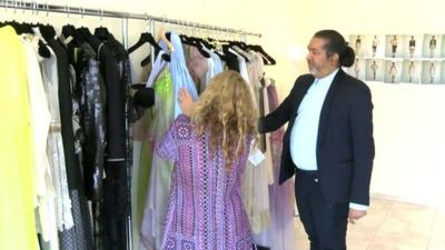 Day in the life of UAE fashion designer Essa Walla - BBC News