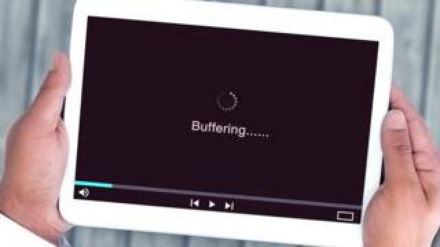 A blank video