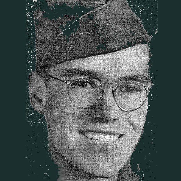 Howard Unruh, foto del ejército.