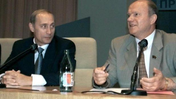 Putin và Zyuganov