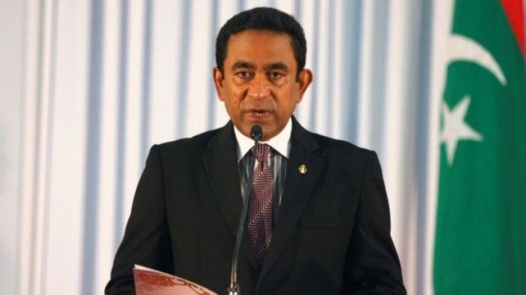 President Yameen has faced criticism over detaining opponents and freedom of speech