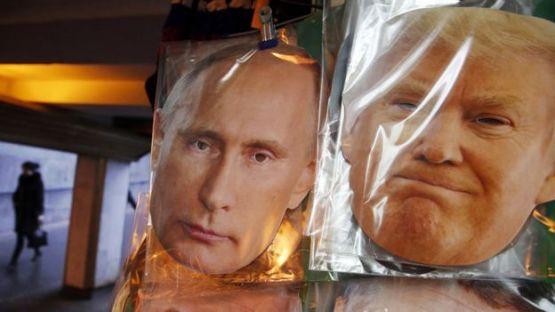 Putin iyo Trump sawiradooda oo bac la geliyay