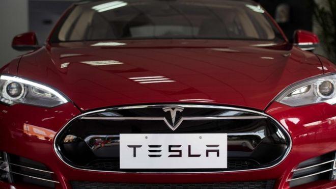 Auto de Tesla