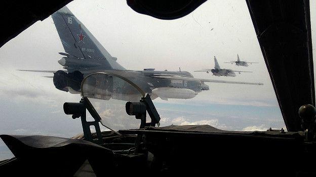 Aviones rusos Sukhoi Su-24