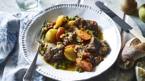 Bbc Food - Recipes - Easter Lamb With Peas