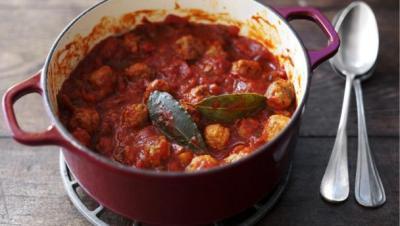 BBC Food - Recipes - Shortcut sausage meatballs