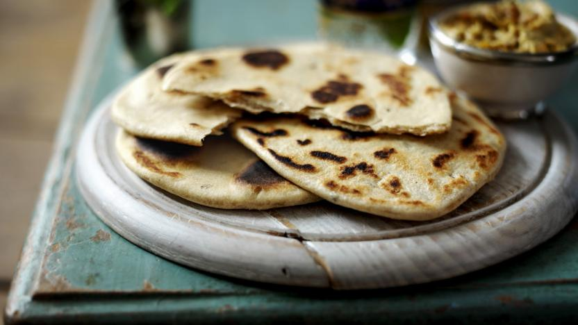 How to make flatbread recipe - BBC Food