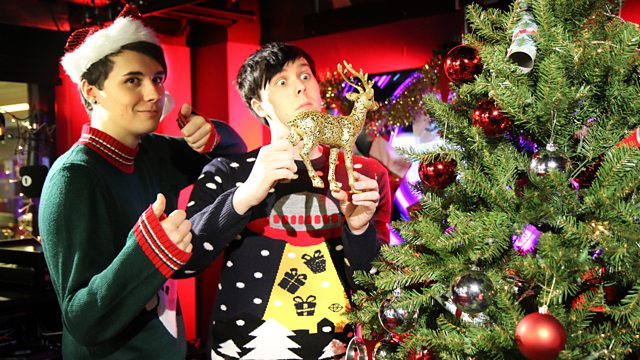 Fall Out Boy Christmas Wallpaper Bbc Radio 1 Dan And Phil Christmas Fun