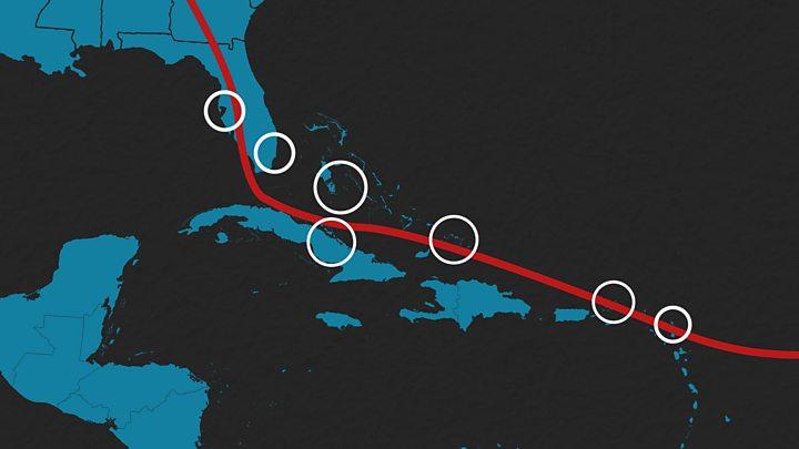 Irma Why Florida avoided catastrophe - BBC News