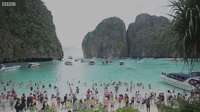 ฟื้นฟูอ่าวมาหยา: อดีตที่อาจไม่หวนคืน - BBC News บีบีซีไทย