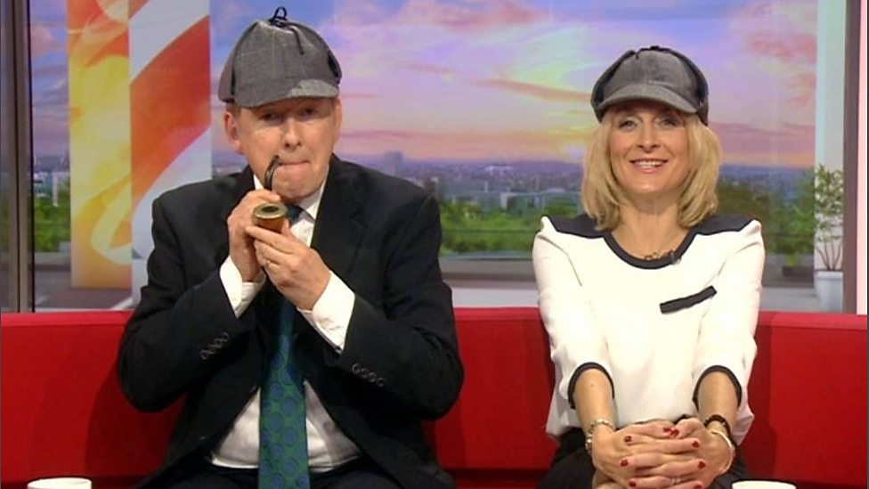 BBC One - Dr Watson, I presume? - Breakfast - Behind the scenes at