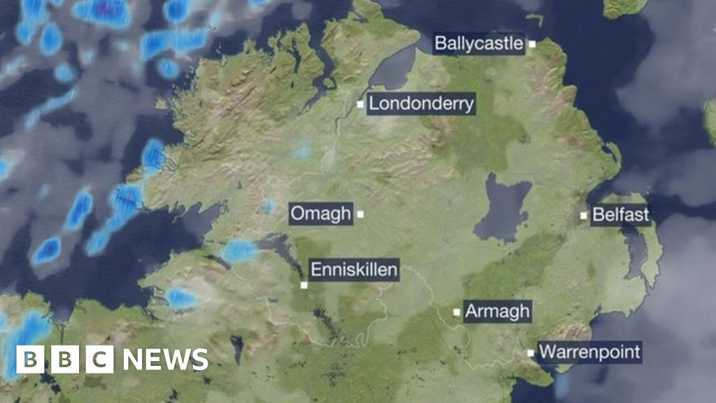 bbc weather belfast northern ireland