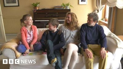 The Aberdeen family embracing a low-carbon lifestyle - BBC ...