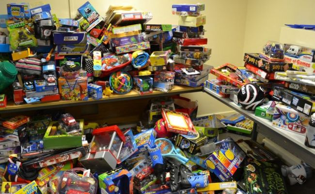 Charity Provides Christmas Toys For 500 Pembrokeshire